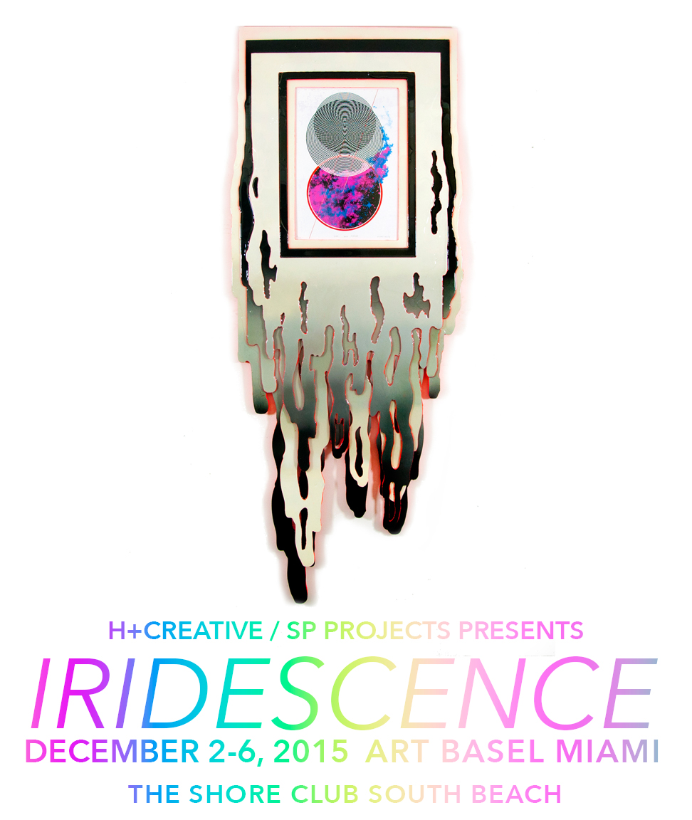 Hilary White to display art work for Iridescence at The Shore Club for Miami Art Basel and H Plus Creative