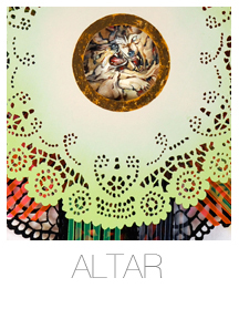 Hilary White Art Alter series