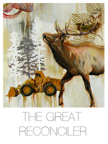 Hilary White art The Great Reconciler series