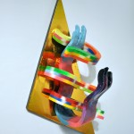Hilary White sculpture We Began in the SEER series