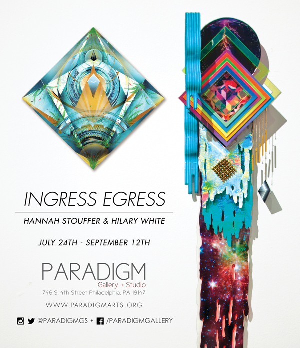 Juxtapoz, Hilary White Art, Paradigm Gallery