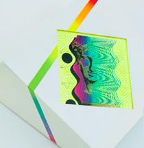 Hilary White art for Ingress Egress at Paradigm Gallery custom framed print