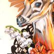 Hilary White, Hilary White Art, Hillary White, Mixed Media, Sculpture, Painting, Bible, Design, Shadows, Panhandle Print, Screen Printing