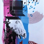 Hilary White limited edition screen print for the art series The Endless One