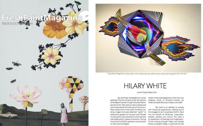 Frsh Paint, Fresh Paint Mag,  Hilary White Art, Hillary White Art, Issue Five, Arts Magazine, Arts Publication