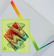 Hilary White art for Paradigm gallery Ingress Egress custom built frames