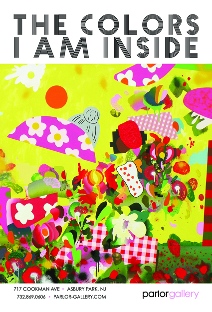 The Colors I Am Inside, a group exhibition including Hilary White, Hunter Stabler, Jason Rohlf, Troy Gua, Tom Berenz, Ray Geary and more